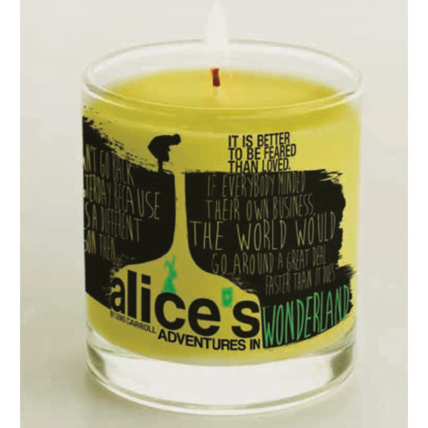 Candle Alice in Wonderland