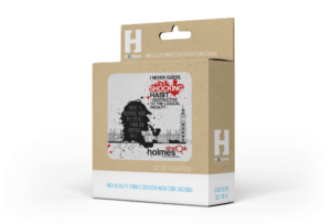 Coaster - Sherlock Holmes