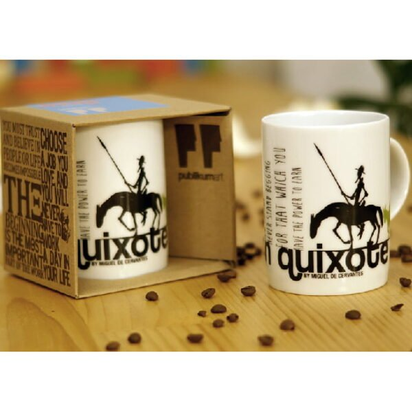 Porcelain Mug, Don Quixote