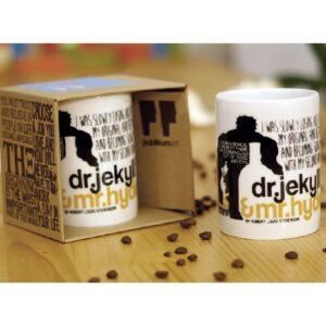 Porcelain Mug - Dr.Jekyll Mr Hyde