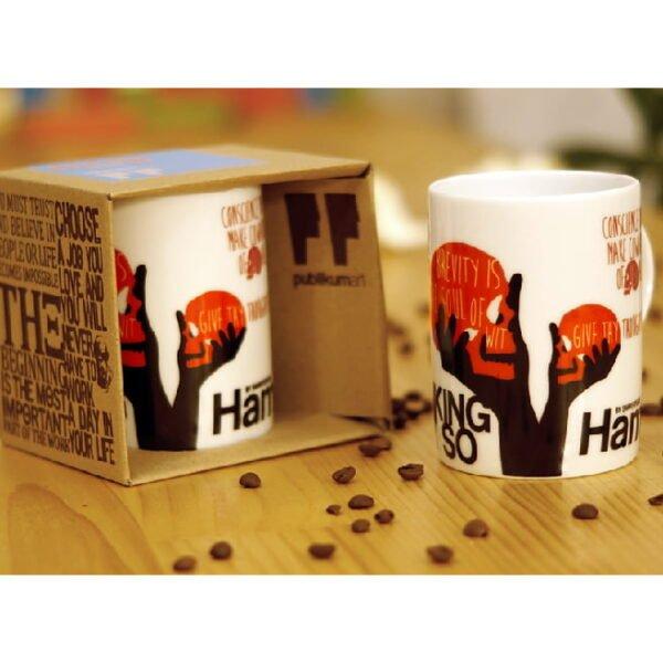 Hamlet Porcelain Mug