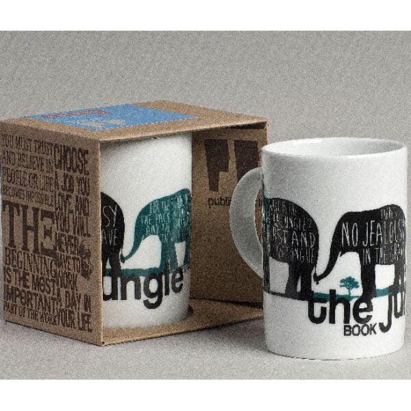 Jungle Book, Porcelain Mug
