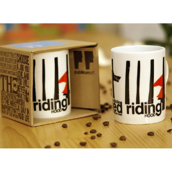Porcelain Mug - Little Red Ridin Hood