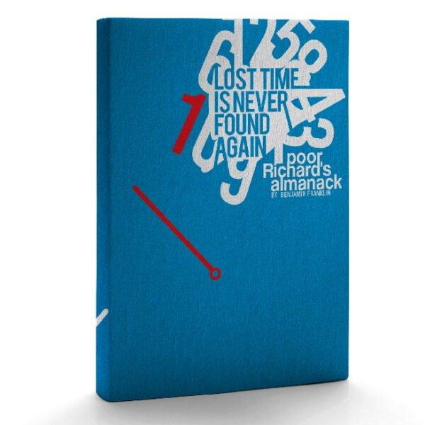 Notebook - Poor Richards Almanac