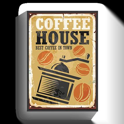 Poster Coffee Vintage