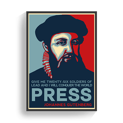 Poster Gutenberg