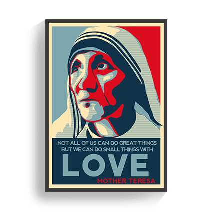 Poster Mother Theresa