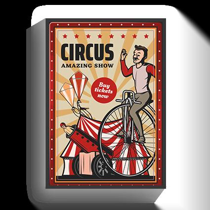 Poster VIntage Circus