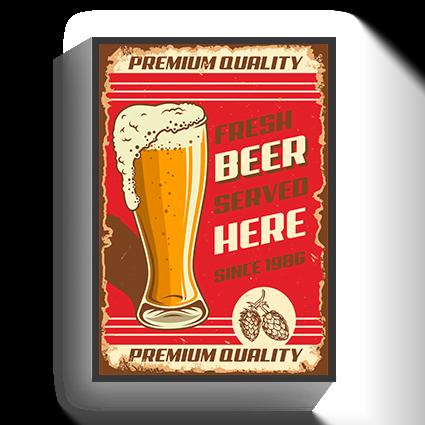 Poster Vintage Beer2