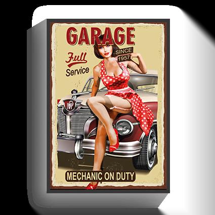 Poster Vintage Garage 2