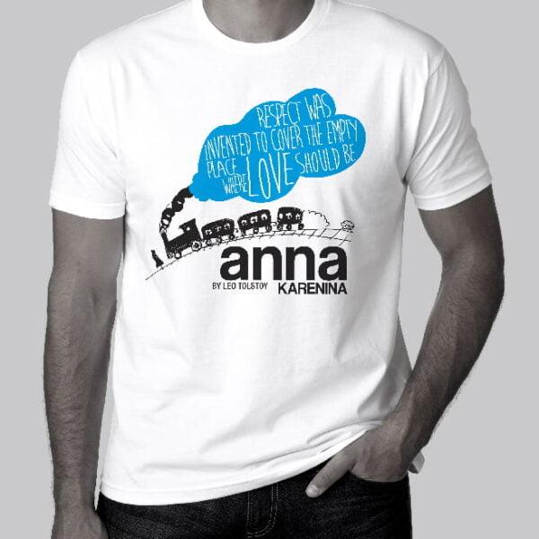 T-shirt - Anna kareninna