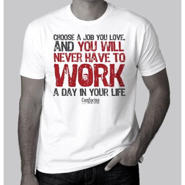 T-shirt - Confucious