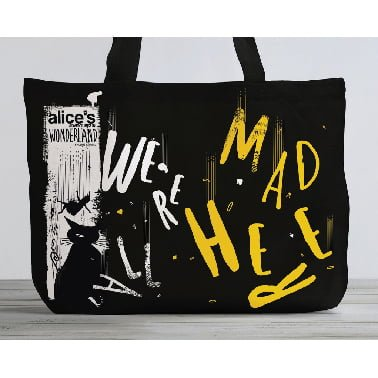 ToteBag-Alice-adventures-in-Wonderland