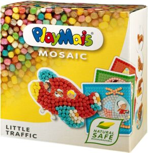 PlayMais Mosaic Little Traffic Arts and Crafts Modeling Kit