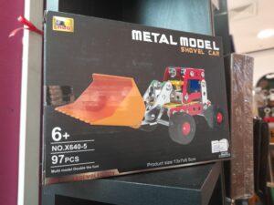metal model shovel car