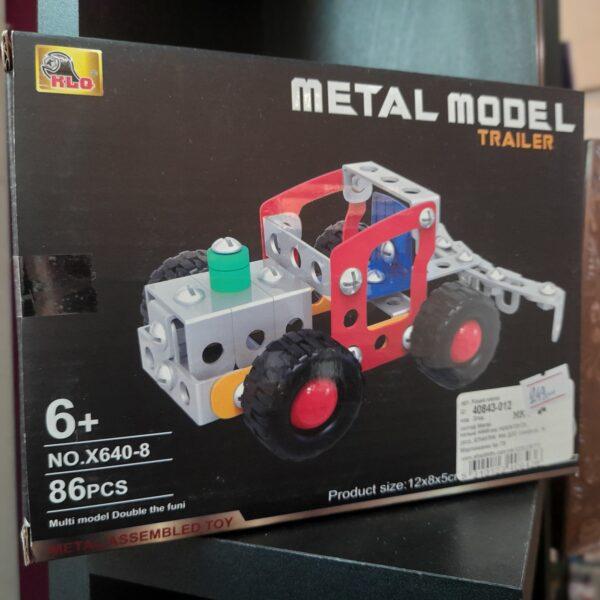 metal build trailer