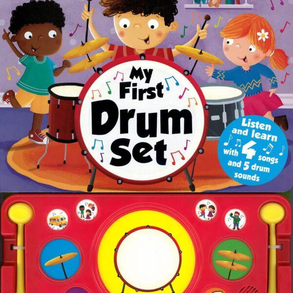 my first drum set