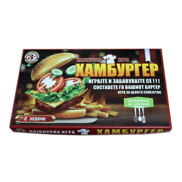 хамбургер игра